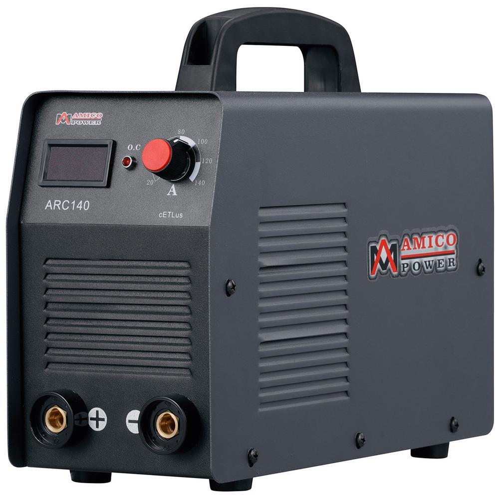 AMICO POWER Amico 140 Amp Stick arc Welder IGBT Inverter DC Welding Machine 115-Volt New