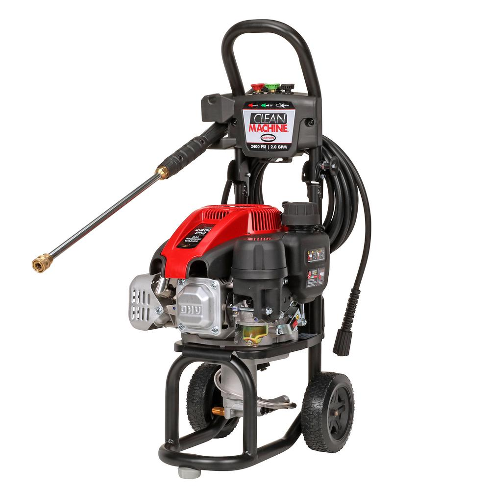Clean Machine by SIMPSON CM60972 2400 PSI at 2.0 GPM SIMPSON 149cc Cold Water Pressure Washer