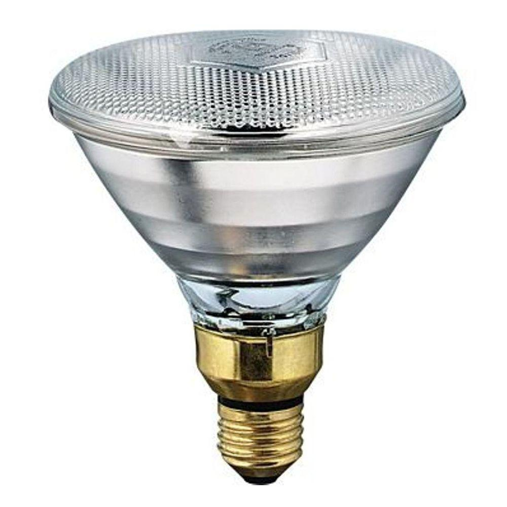 Philips 175 Watt 120 Volt Incandescent Par38 Heat Lamp Light Bulb 145516 0 The Home Depot