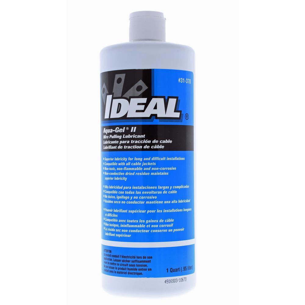 1 Qt. Aqua-Gel II Non-Toxic Cable Pulling Lubricant (2-Bottles)