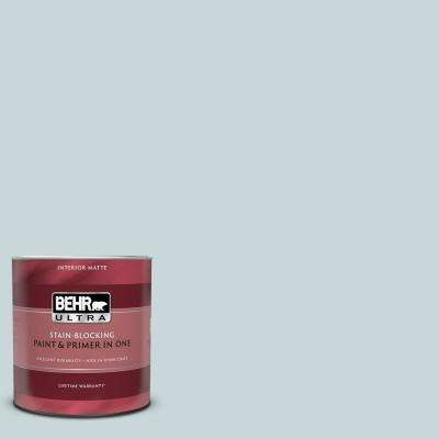 1 qt. #PPU13-16 Offshore Mist Matte Interior Paint and Primer in One