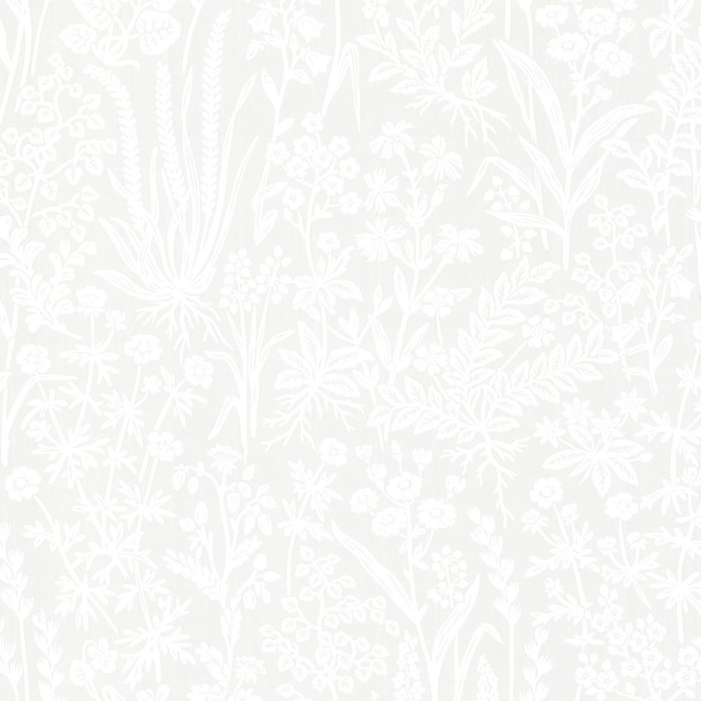 Brianne Grey Botanical Wallpaper