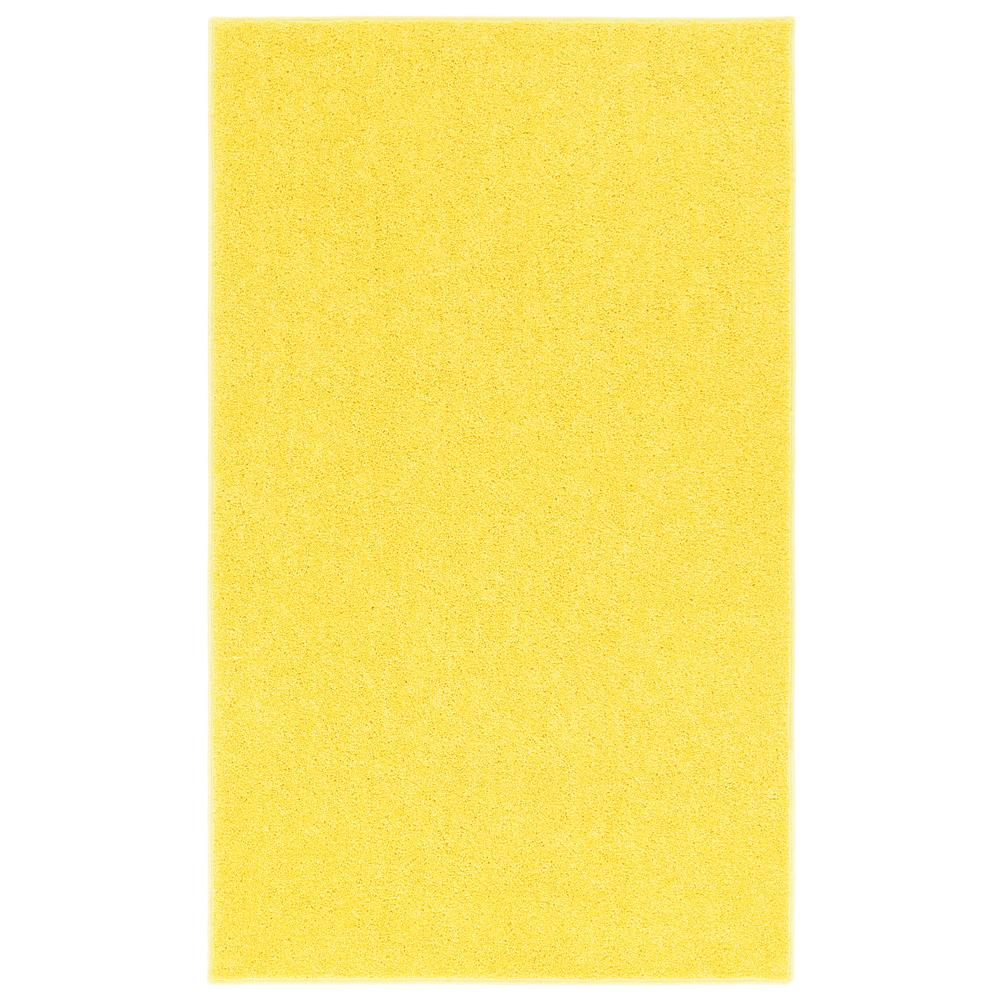 Nance Industries Oure Bright Yellow 4 Ft X 6 Accent Rug