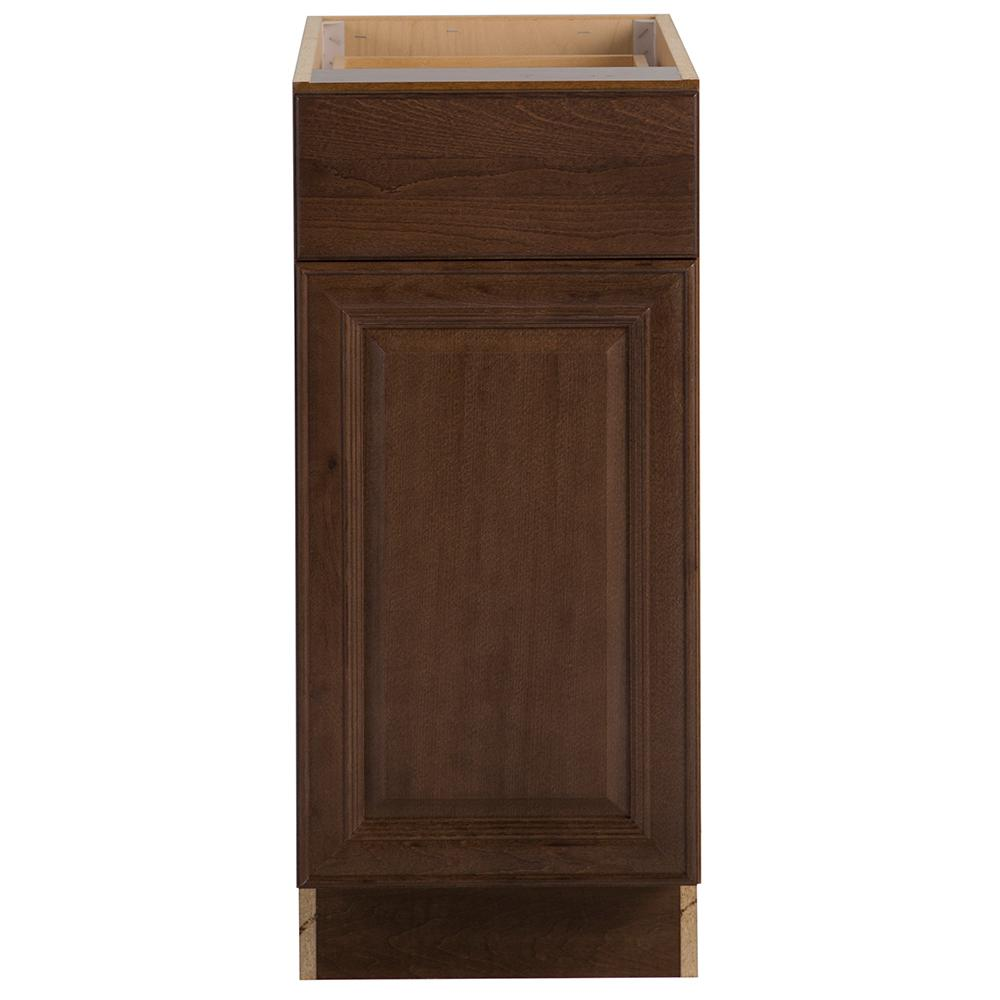 Hampton Bay Benton Embled 15x34 5x24 In Base Cabinet With Soft Close Full Extension