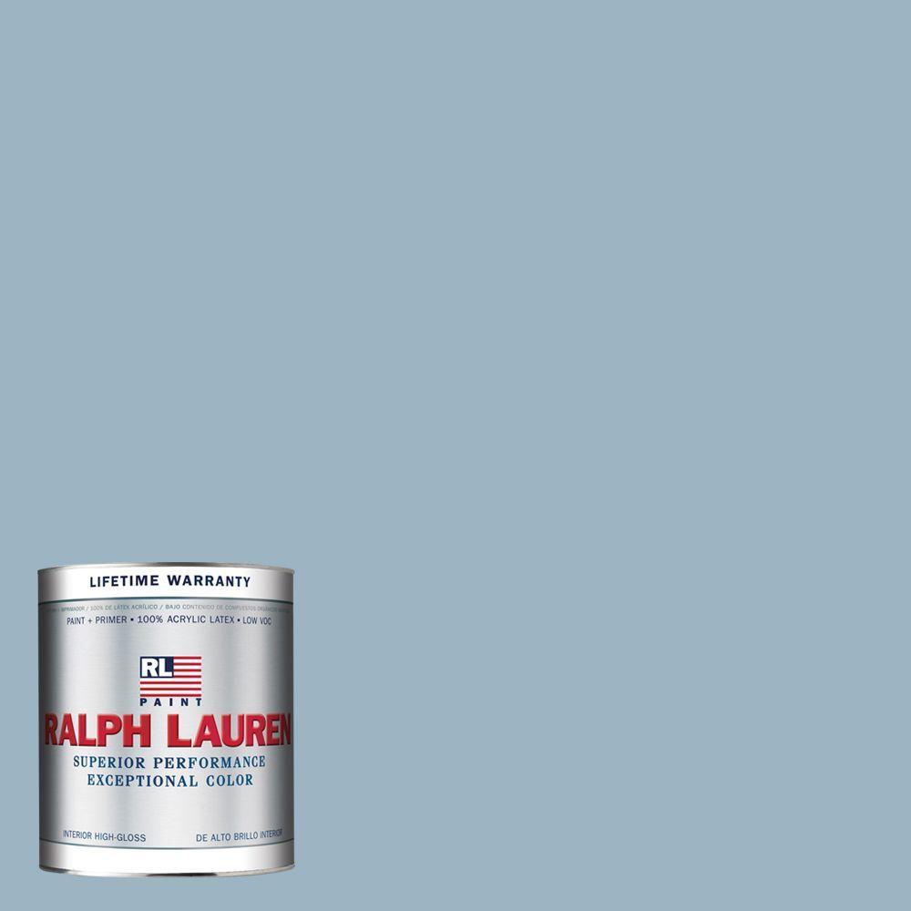 Ralph Lauren 1-qt. Andover Blue Hi-Gloss Interior Paint