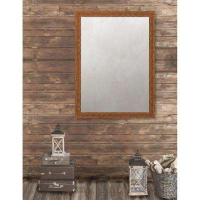 Remington 34.75 in. x 46.75 in. French Antique Wide Framed Antique Mirror