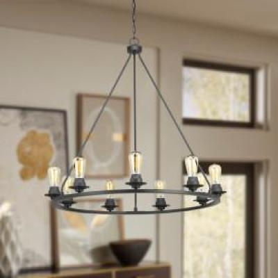 Debut Collection 9-light Graphite Chandelier
