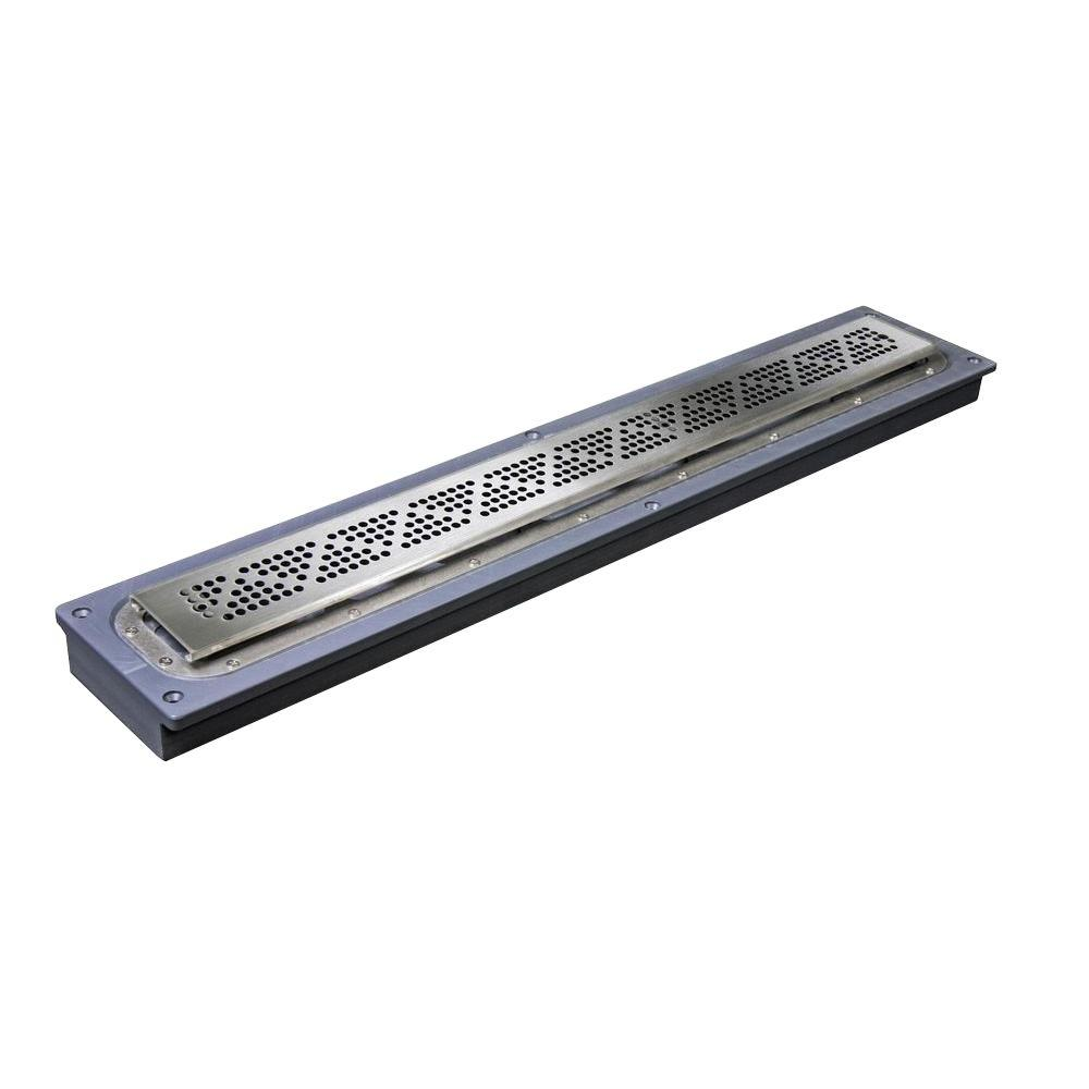 Sioux Chief 40 in. Steel Linear Shower Drain