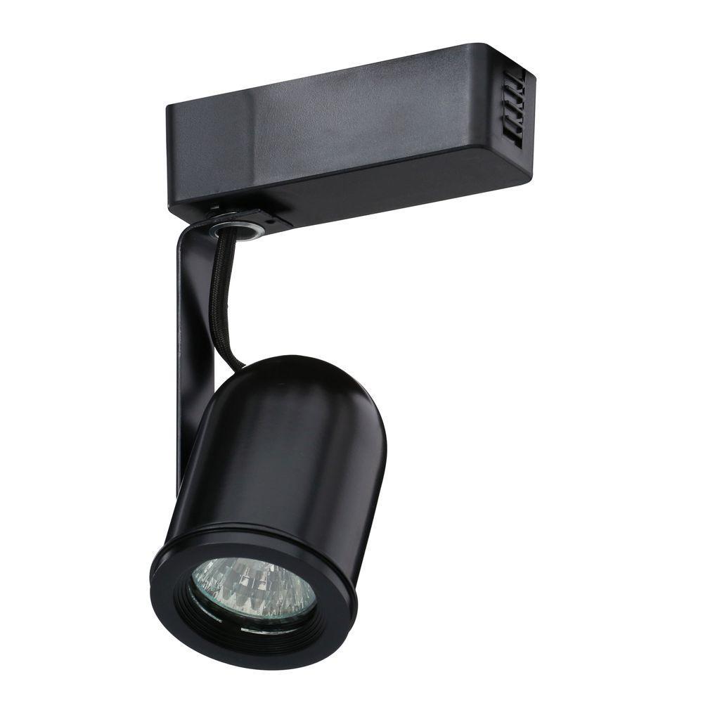 Trac-Lites Low-Voltage Black Round-Back Light
