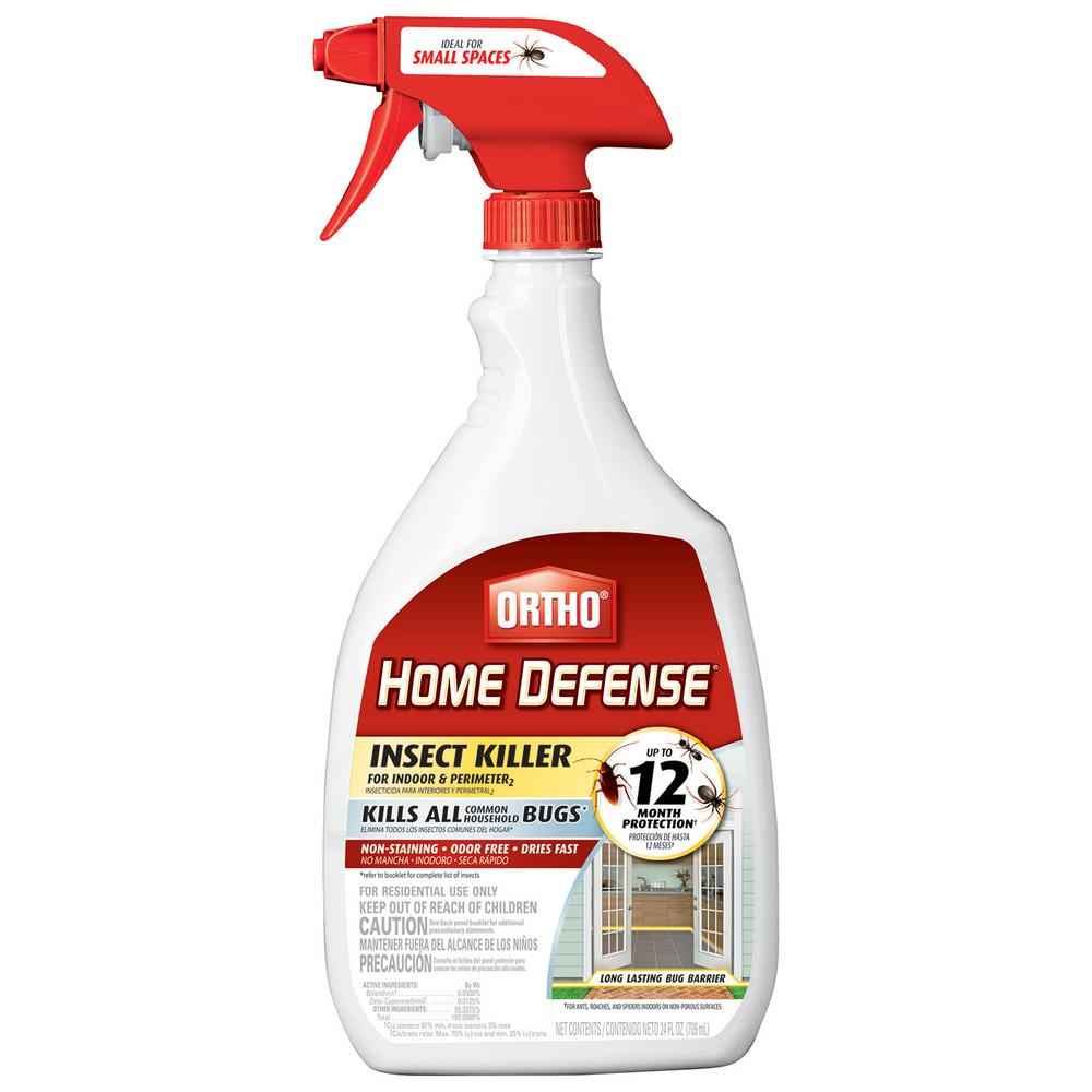 Ortho Ortho Home Defense Insect Killer For Indoor Perimeter 2 Ready To Use 022131005 The Home Depot