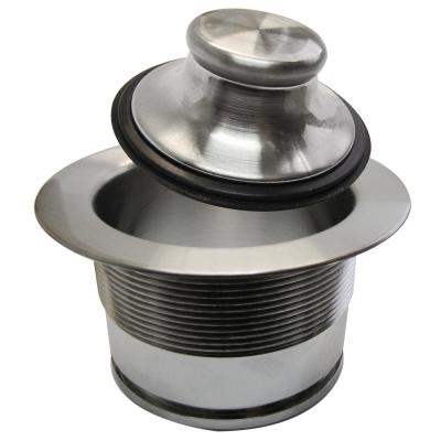 Brass Garbage Disposal Flange in Polsihed Chrome