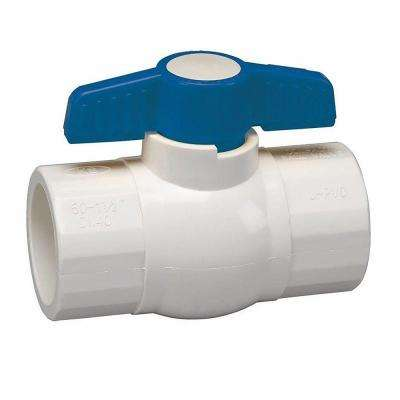 1/2 in. PVC Sch. 40 Slip x Slip Ball Valve