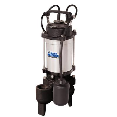 1/2 HP Cast Iron Stainless Steel Submersible Sewage Pump with Tether Switch