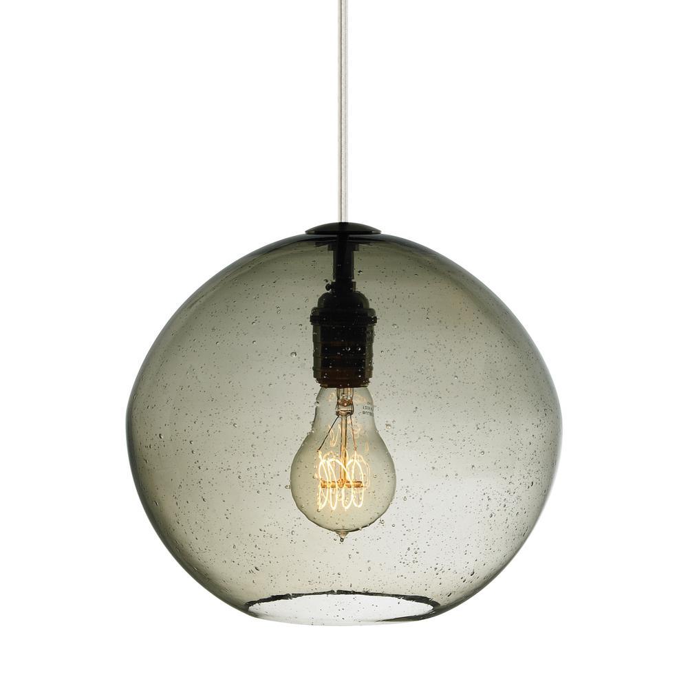 Lbl lighting clear all compare isla 6 5 watt bronze integrated led pendant