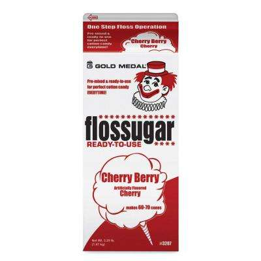 Flossugar 1/2 Gal. Cherry