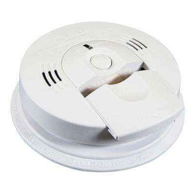 Battery Operated Combination Smoke and Carbon Monoxide Alarm with Voice Alert