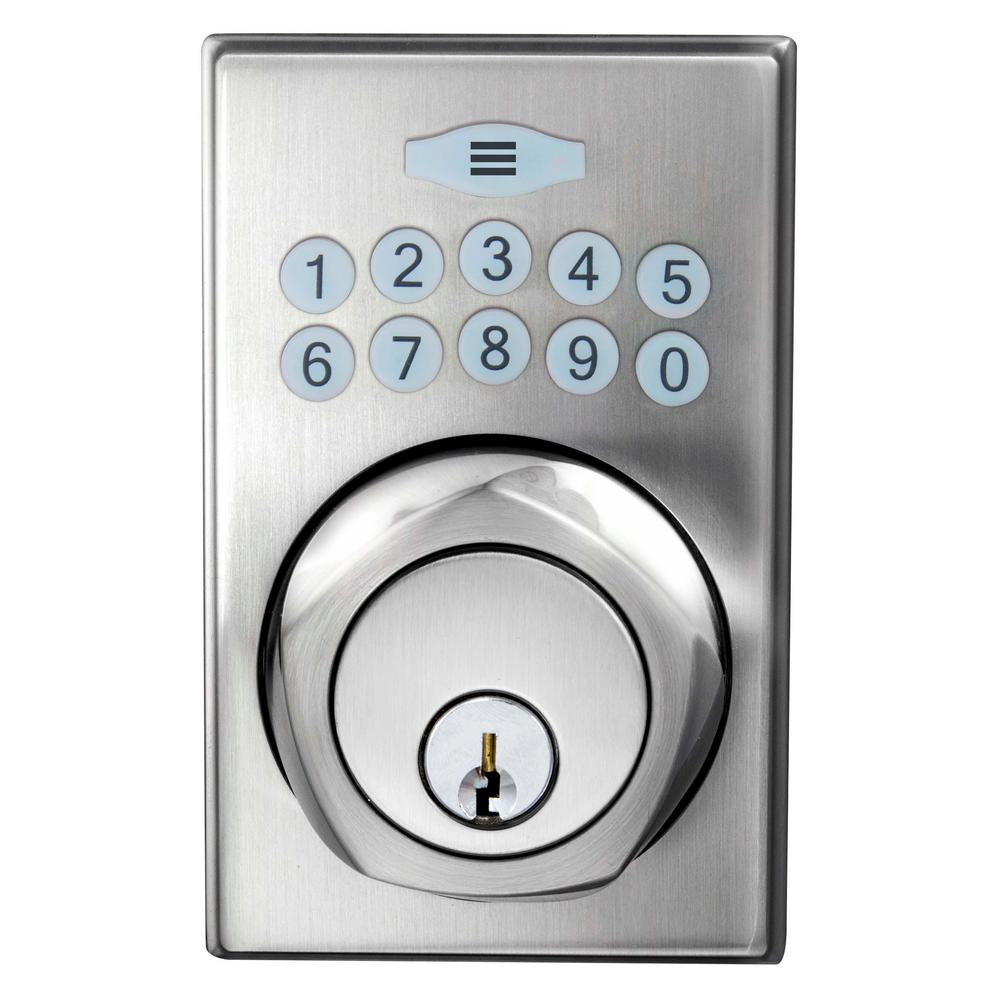 Kwikset Electronic Deadbolts Deadbolts The Home Depot