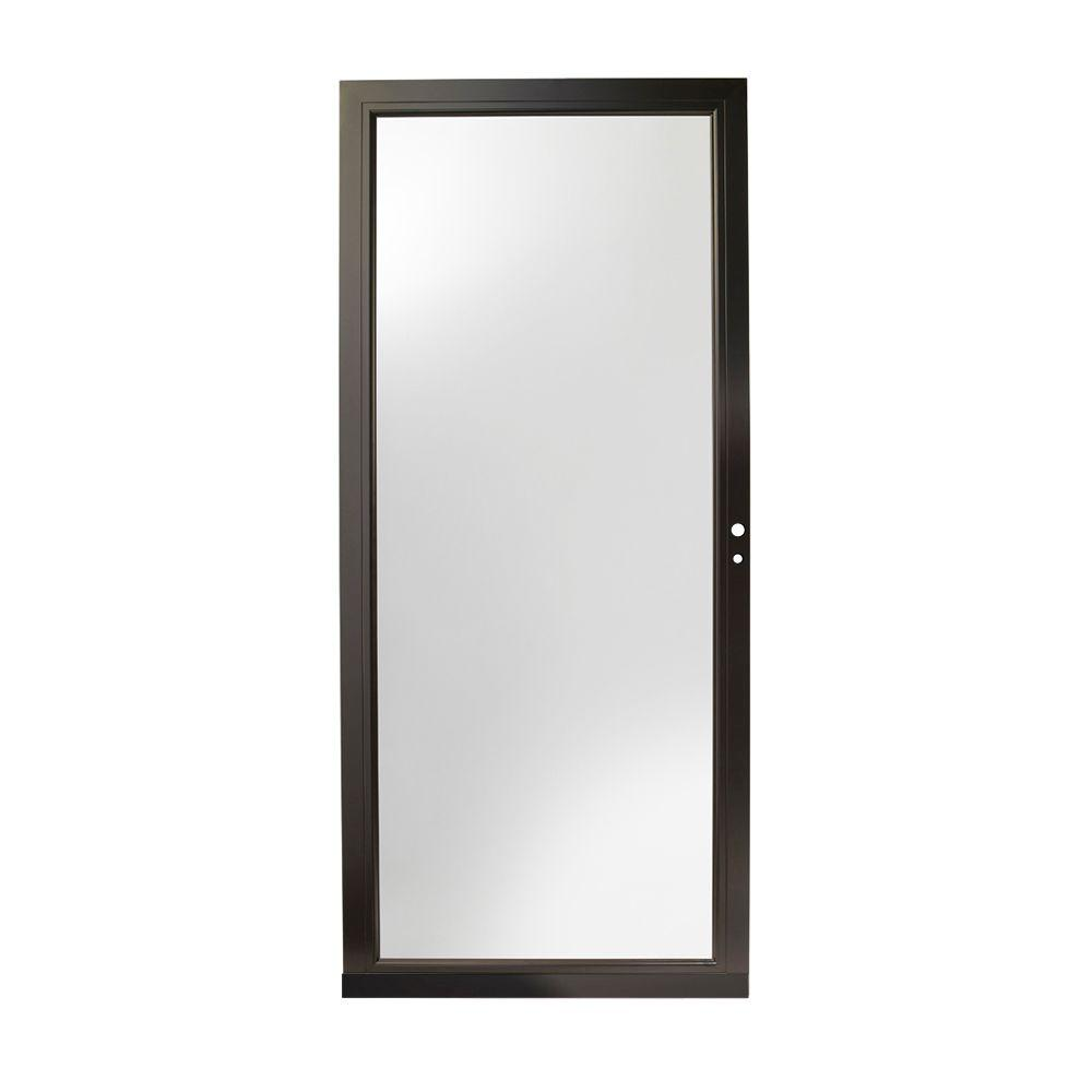 Exceptional Andersen 36 In. X 80 In. 4000 Series Black Right Hand Fullview Laminated