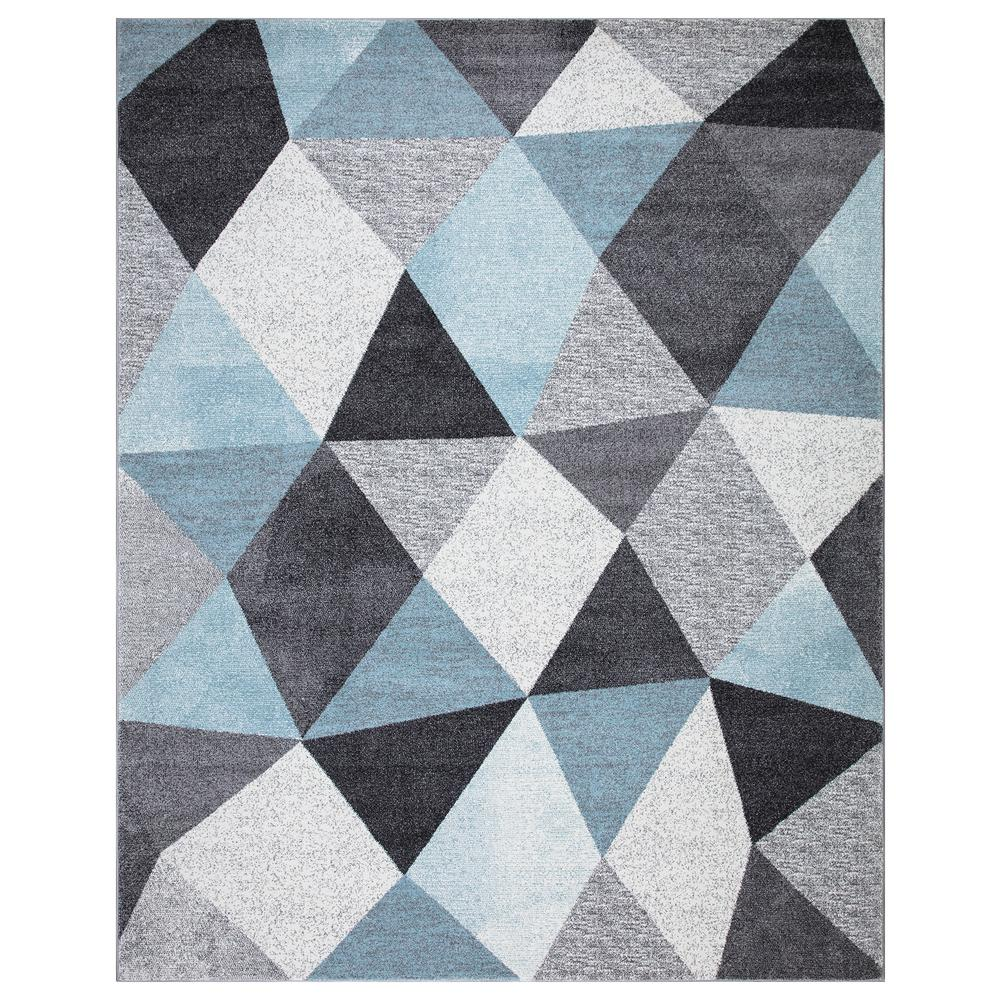 StyleWell Dilaria Blue/Multi-Color 7 ft. 10 in. x 9 ft. 10 in. Geometric Hand Carved Area Rug was $239.06 now $143.44 (40.0% off)