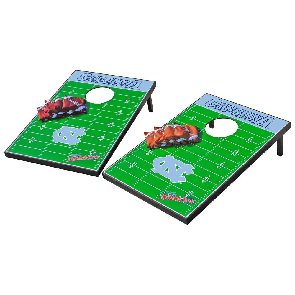 Wild Sports North Carolina Tarheels Tailgate Cornhole Toss
