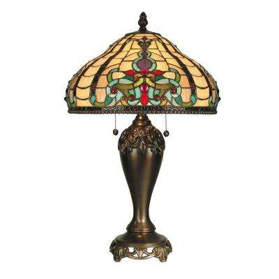 16 in. x 27 in. Topaz Baroque Table Lamp