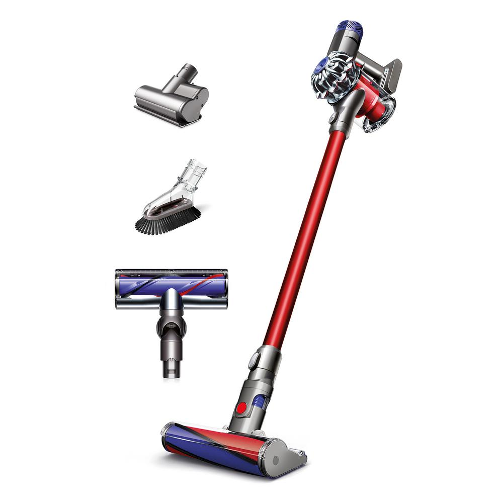 dyson v6 absolute cordless stick vacuum 209560 01 the home depot. Black Bedroom Furniture Sets. Home Design Ideas