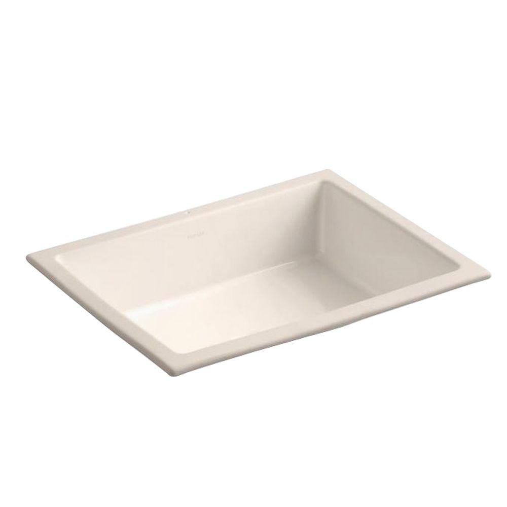 KOHLER Verticyl Undermount Bathroom Sink in Innocent Blush-DISCONTINUED