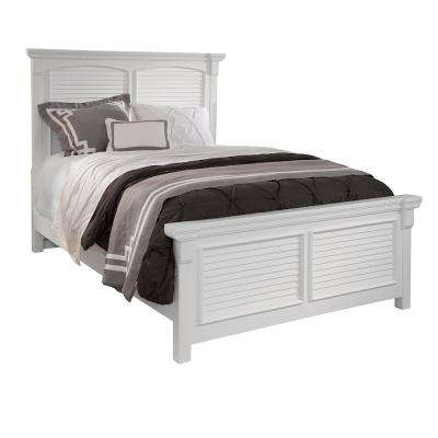 Cottage Traditions Complete Square Panel King Bed