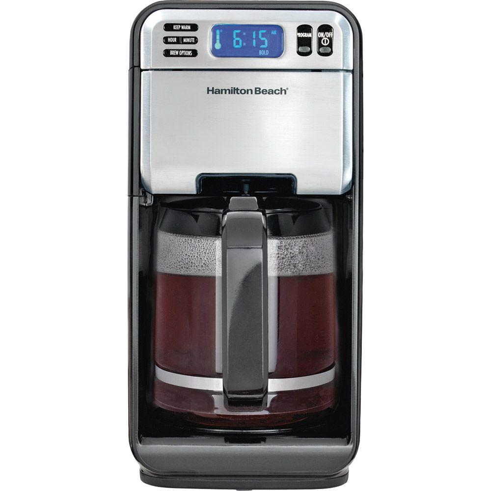 Hamilton Beach Cafe Gourmet 12-Cup Coffeemaker with Easy-Access Design
