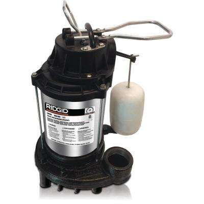 1/2 HP Cast Iron Dual Suction Sump Pump