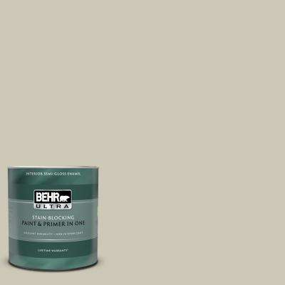 1 qt. #PPU8-16 Coliseum Marble Semi-Gloss Enamel Interior Paint and Primer in One