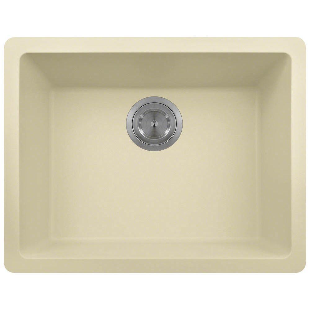 Single Bowl Kitchen Sink In Beige