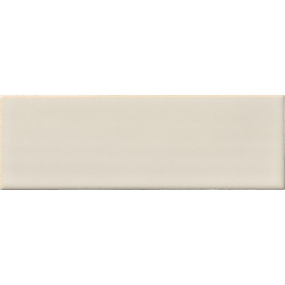 MSI Antique White Handcrafted 4 in. x 12 in. Glazed Ceramic Wall Tile (2 sq. ft. / case)
