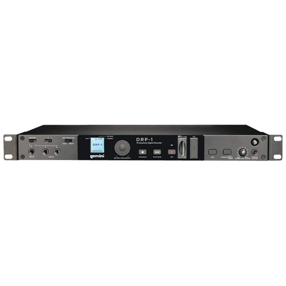 Gemini 1U Rack-Mount Digital Recorder