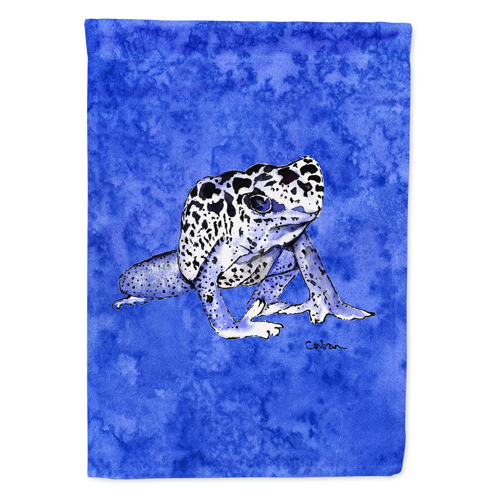 Caroline's Treasures 28 in  x 40 in  Polyester Frog Flag Canvas House Size  2-Sided Heavyweight