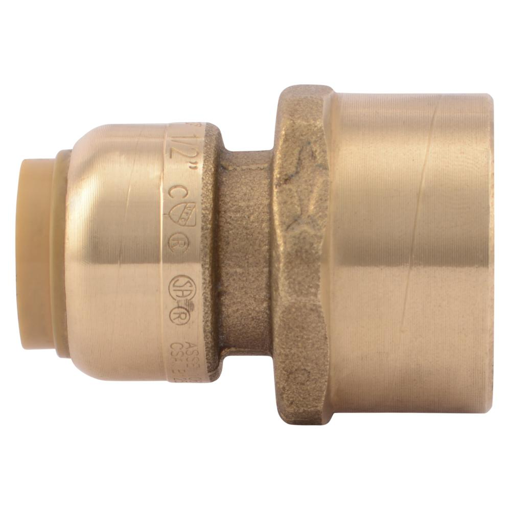 SharkBite 1/2 in. Push-to-Connect x 3/4 in. FIP Brass Adapter Fitting