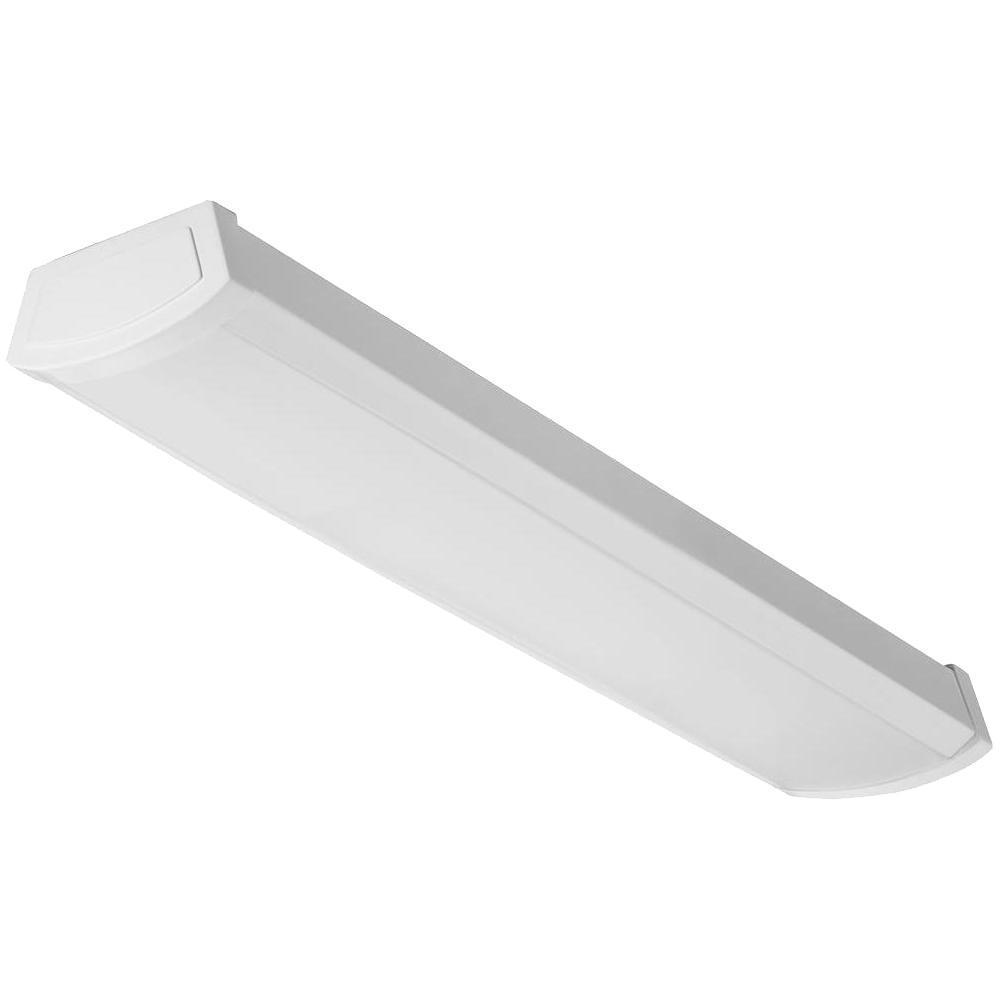 Lithonia Lighting 4 Ft 40 Watt White Integrated Led