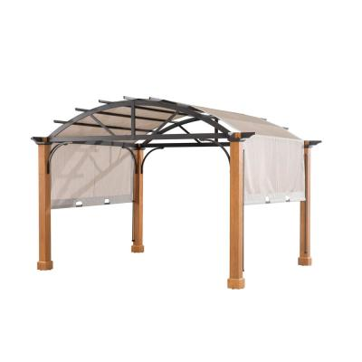 Suntime Fully Enclosed Canopy 12 Ft W X 12 Ft D Aluminum Pop Up Gazebo Reviews