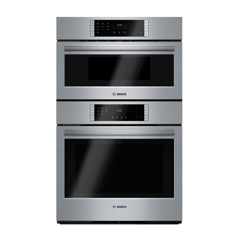 800 Series 30 in. Combination Electric Wall Oven with European Convection