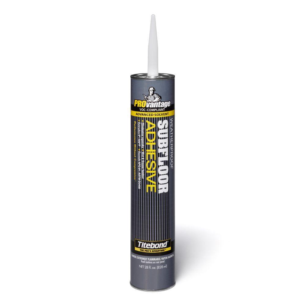 Titebond 28 Oz Provantage Subfloor Adhesive 12 Pack
