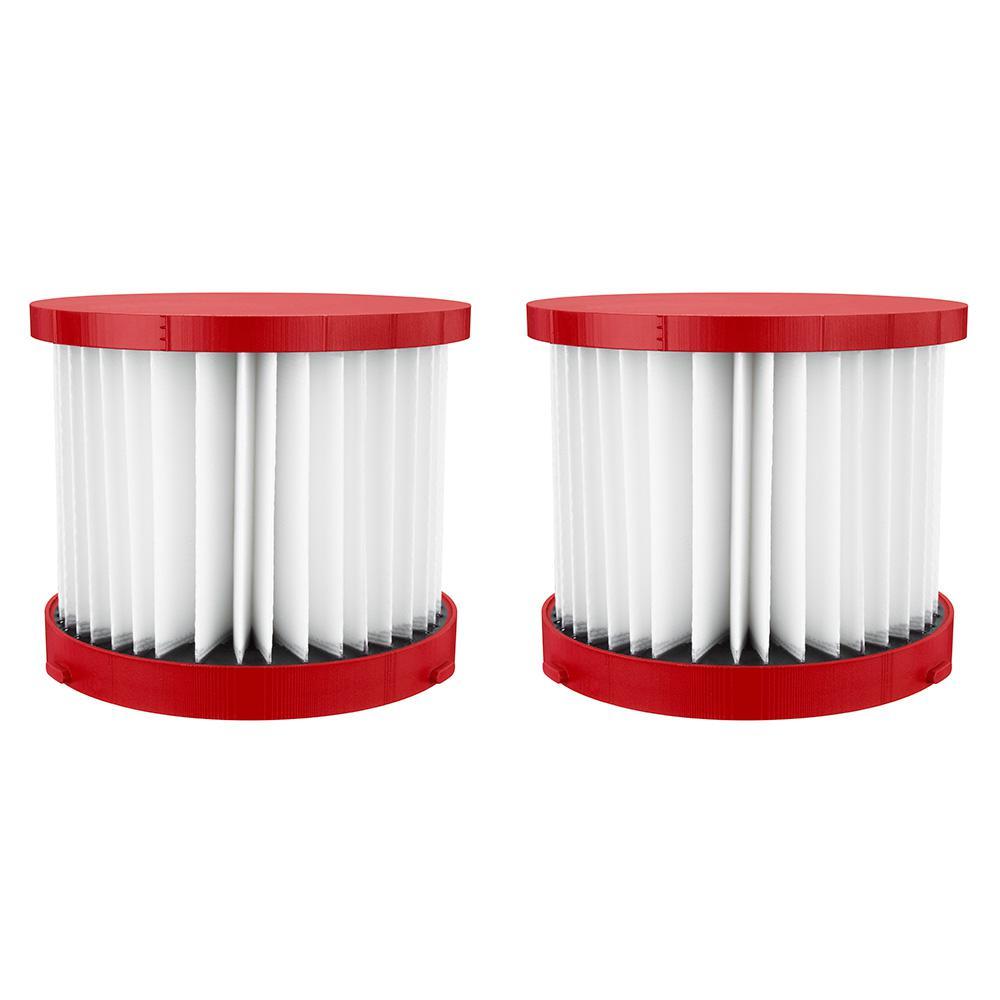 Wet/Dry Vacuum Hepa Filter (2-Pack)