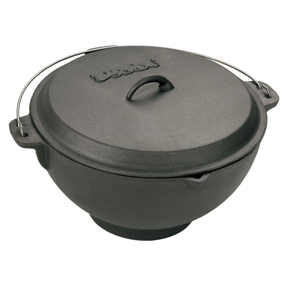 3 Gal. Cast Iron Jambalaya Pot