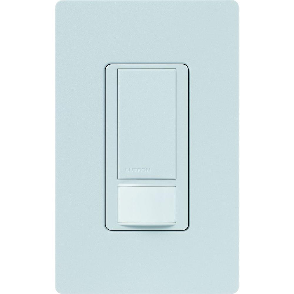 Maestro Dual Voltage Vacancy Sensor switch, 6-Amp, Single-Pole, Palladium