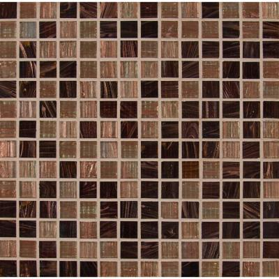 Treasure Trail Iridescent 12 in. x 12 in. x 4 mm Glass Mesh-Mounted Mosaic Tile (1 sq. ft.)