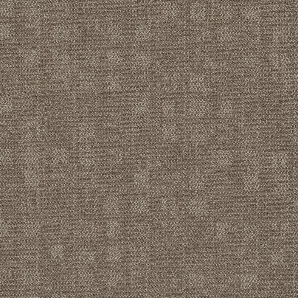 Crafter Brown 24 in. x 24 in. Carpet Tiles (8 syds. case/carton - 18 Tiles case/carton)