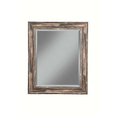 Farmhouse Antique Black Decorative Wall Mirror