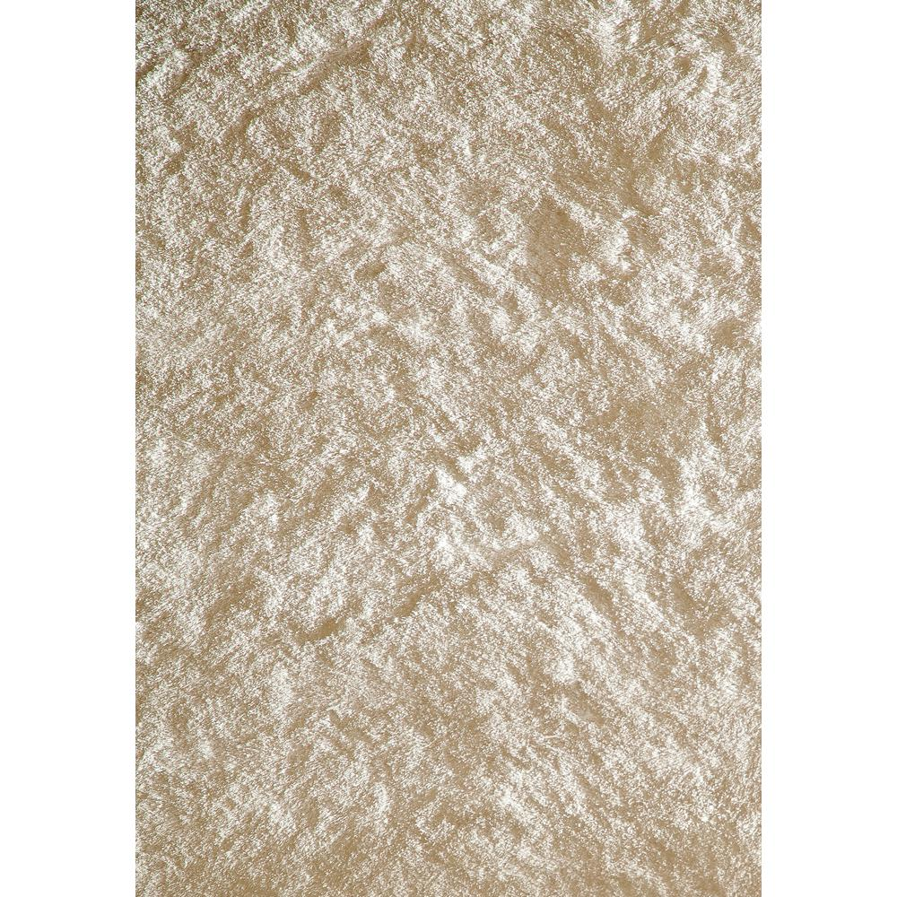 Luster Shag White 5 ft. x 7 ft. Indoor Area Rug