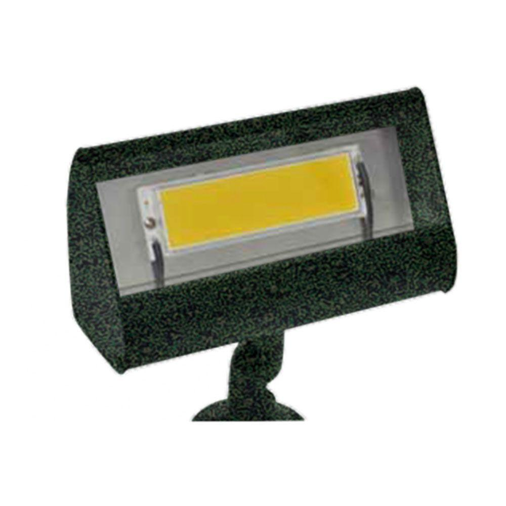 Centennial 1-Light Outdoor LED Antique Verde Flood Light