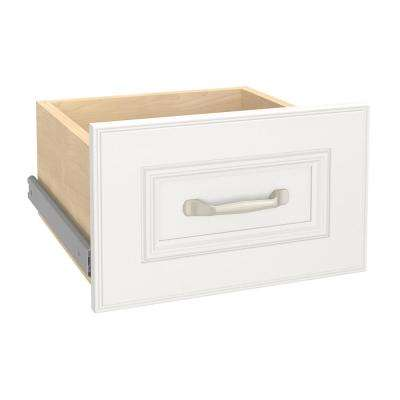 Impressions 13.4 in. W x 8.7 in. H White Narrow Drawer Kit for 16 in. W White Standard Closet Kit