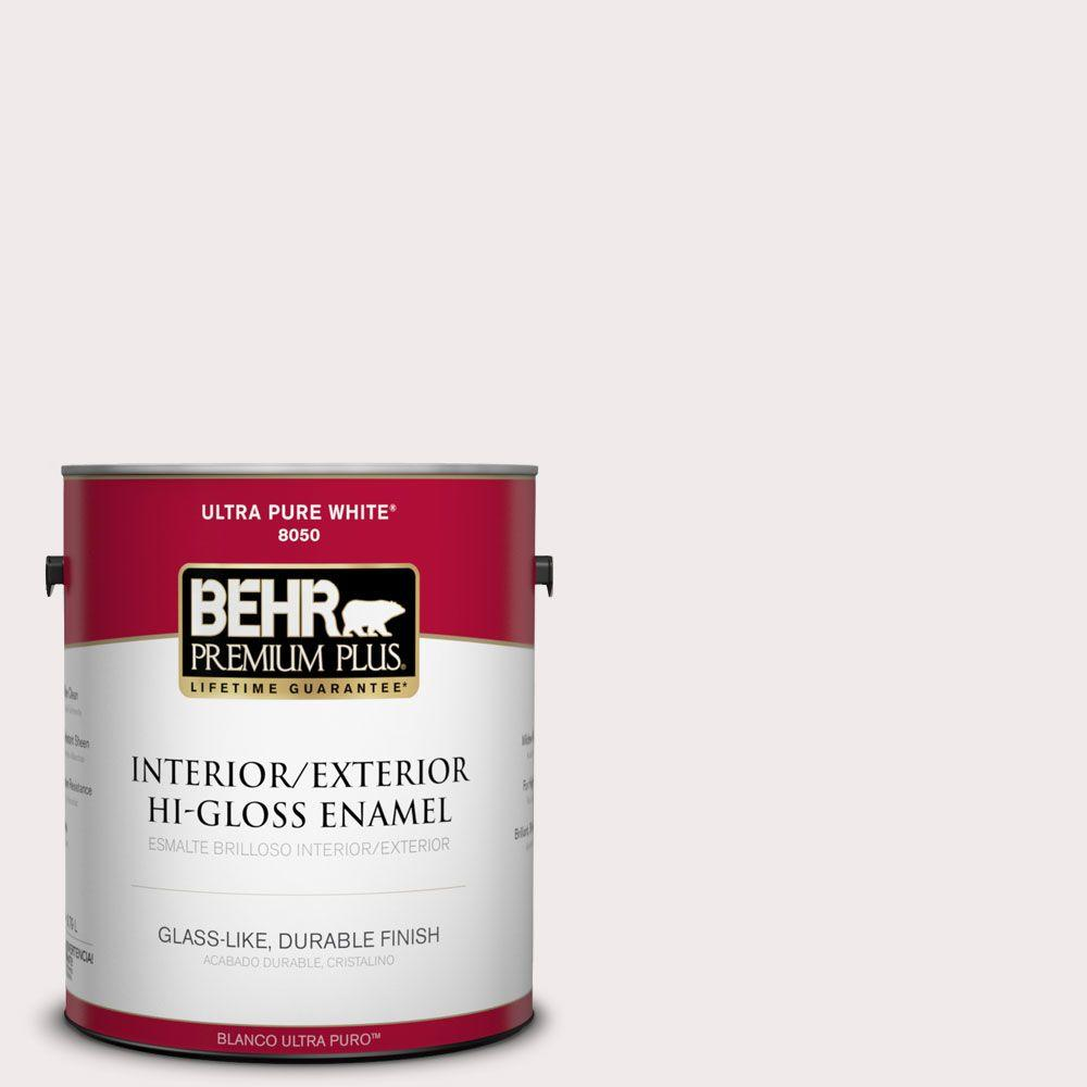 1 gal. #790A-1 White Dogwood Hi-Gloss Enamel Interior/Exterior Paint